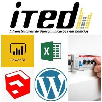 Projetos ITED e Elétricos | Criação de sites | Impressão 3D | Excel