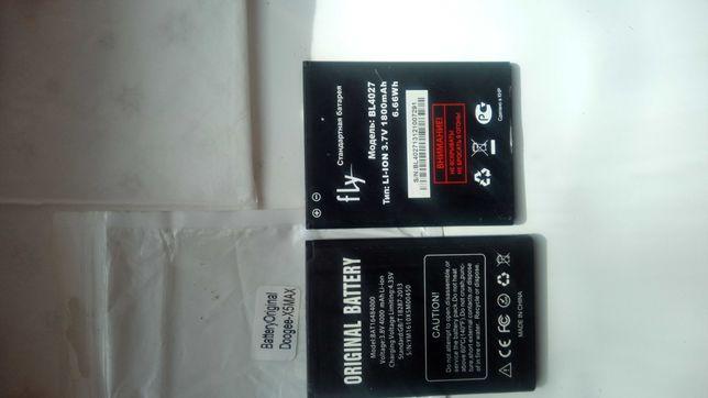 Батарея на смартфон doogee x5 Max pro/смартфон/ и fly Bl4027