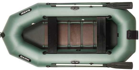 Ponton Bark В-300ND Przesuwane Siedzenia, Deska pod silnik zaburtowy