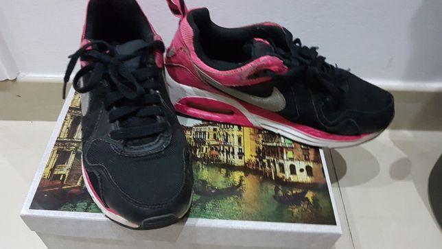 NIKE Air Max czarne buty R 36,5 23,5 cm młodzieżowe / damskie