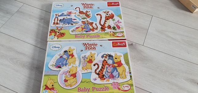 Zestaw puzzli Whinne the Pooh 2lata