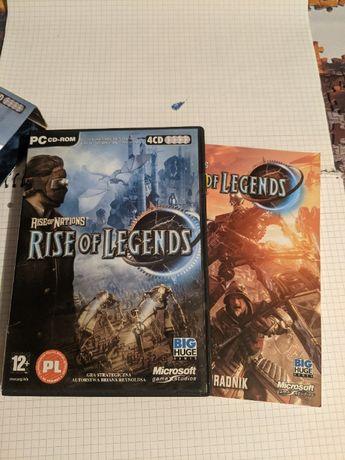 Rise of Nations Rise of Legends PL CD Pudełkowa