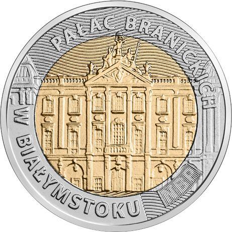 Moneta 5zł Pałac Branickich w Białymstoku 2020