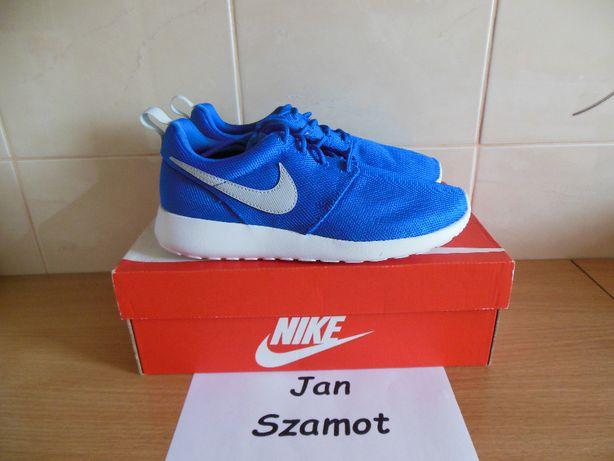 37,5 Niebieskie Nike Roshe Run Blue / White Rosherun