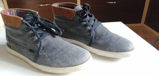 Buty trzewiki Feewear eleganckie lniane dla chłopca r.41