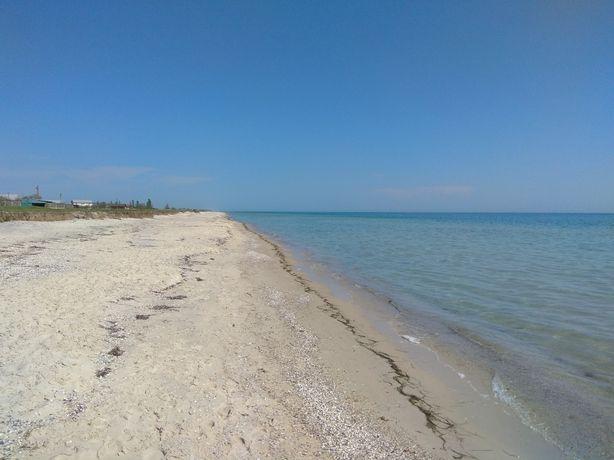Участок 25сот. на берегу моря, рядом озеро