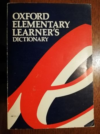 Oxford Elementary Learner's Dictionary angielski