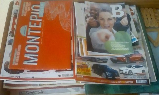 Vendo lote de revistas 10€ cada! (Para despachar tudo) c/calendário.