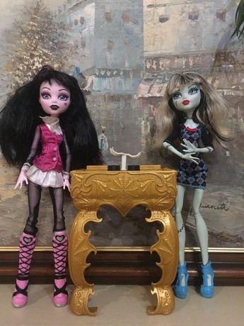 Кукла монстер хай monster hight дракалаура иифренки штейн
