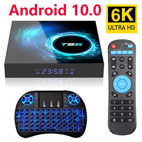 100% Novo - TV box t95 h616 - 4GB+64GB -  PORTES GARTIS
