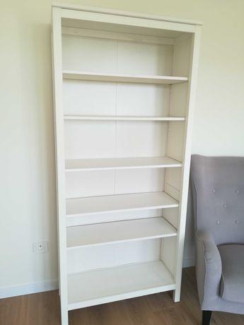 Hemnes IKEA, regał na książki, biały