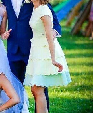 Sukienka + spódnica Mohito rozm. XS i 34 stan idealny