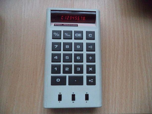 Stary kalkulator Interton Electronic PC 2008
