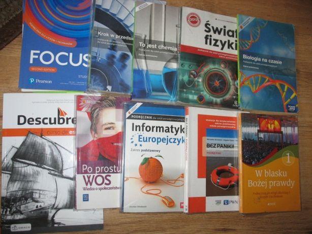 Ponad słowami,Oblicza epok,Odkryc fizykę,test,Wos,Biologia na czasie