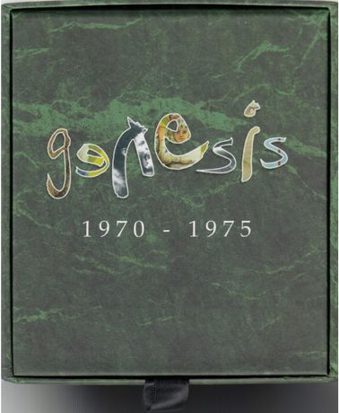 Genesis 1970-75 Box nova com 7 CDs e 6 DVDs