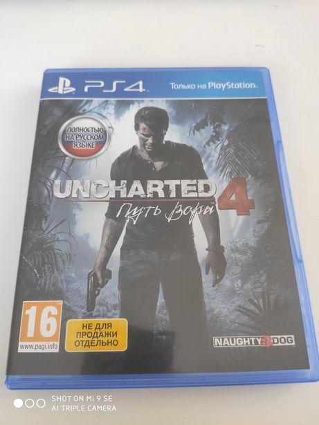 Продам диск з ігрою SP4 Унчартерд 4