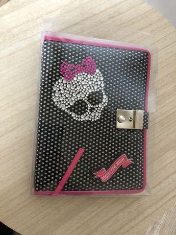 MONSTER HIGH pamiętnik na kluczyk