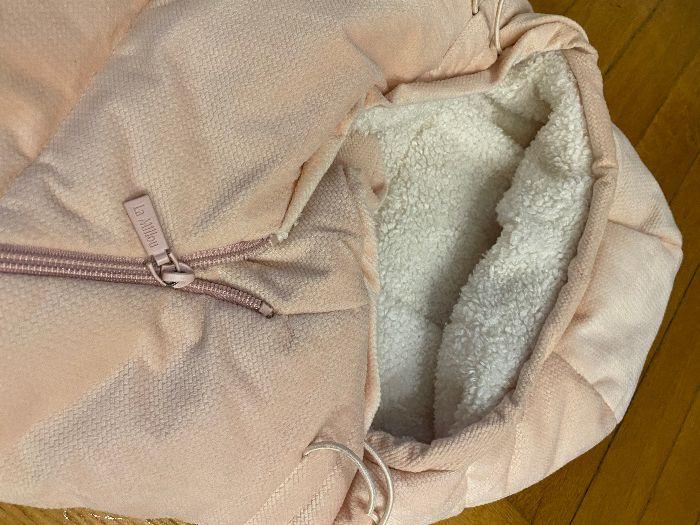 La Millou śpiworek Velvet ASPEN BAG BABY   POWDER PINK Warszawa - image 1