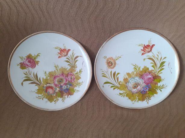 Porcelana pratos e potes