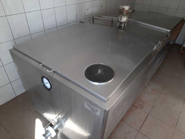 Schładzalnik zbiornik chłodnia do mleka 1200 l