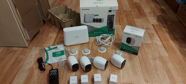 Zestaw kamer ARLO PRO 4 kamery