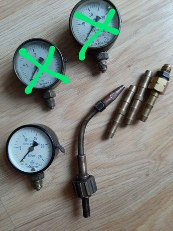 Stare -    Manometr- tlen - palnik 1 - szybkozłączki