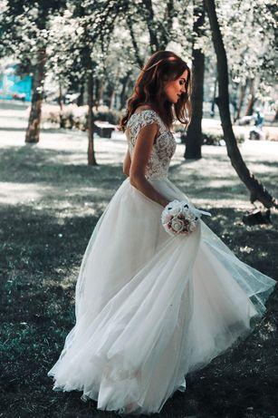 ! ТЕРМІНОВО продаю! Весільна сукня!