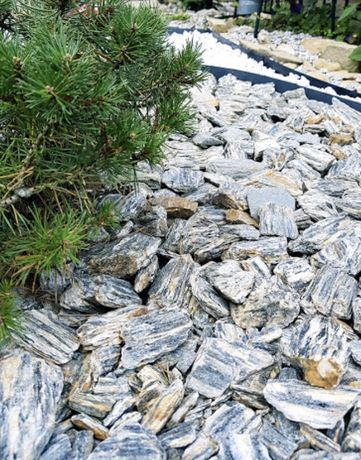 Kora kamienna grys kamień ozdobny kruszywo ogród