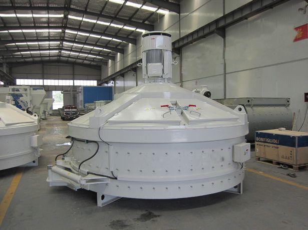 Wezel betoniarski z mieszarka planetarna silosy zbiorniki na kruszywo
