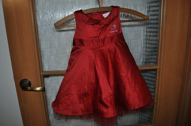 sukienka dziewczęca H&M r.86 cm jak nowa