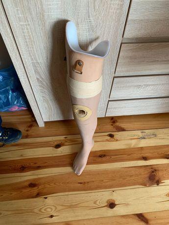 Proteza nogi prawej