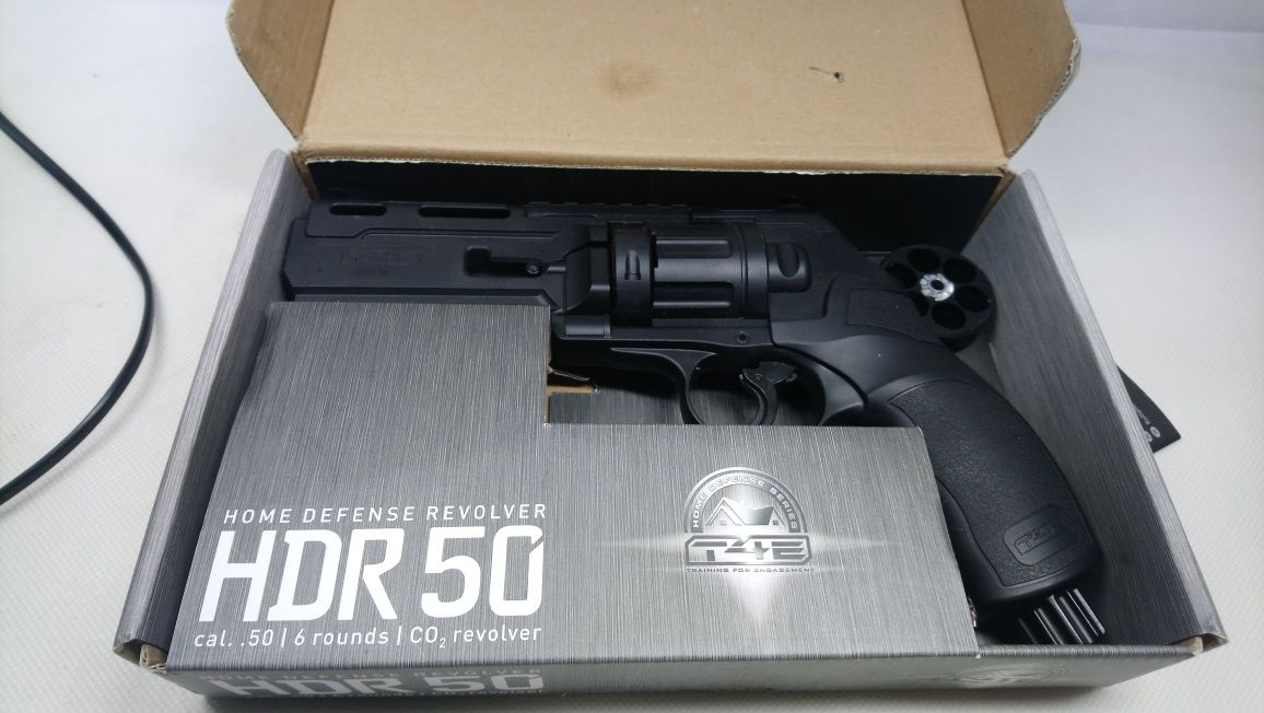 pistolet REWOLWER umarex HDR 50