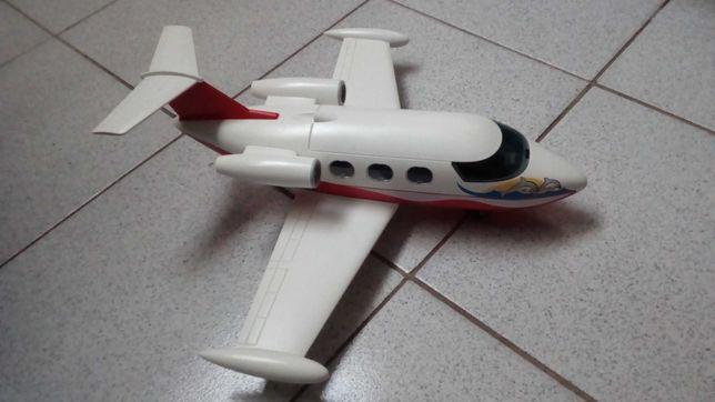 Aviao playmobil completo