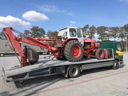 Transport ciągnika traktora wózka pomoc drogowa  laweta do 7 ton