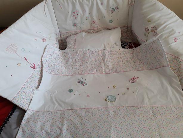 """Защита на детскую кроватку и постельный комплект,""""Lauri Ashley"""""""