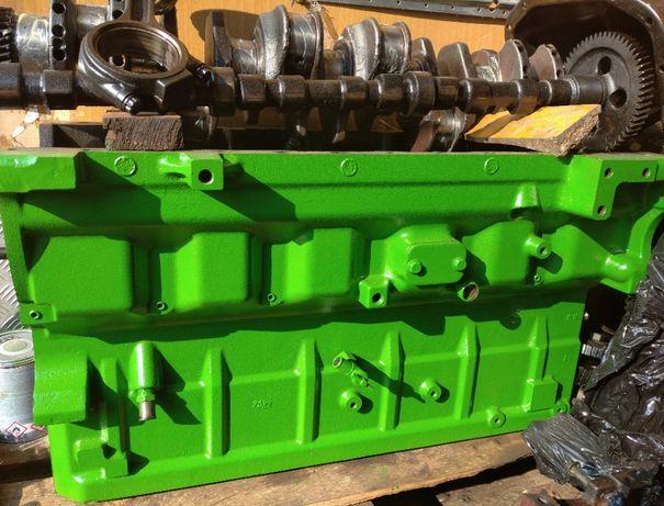 Silnik John deere 6068 HZ 6,8L R504850 blok wał  głowica
