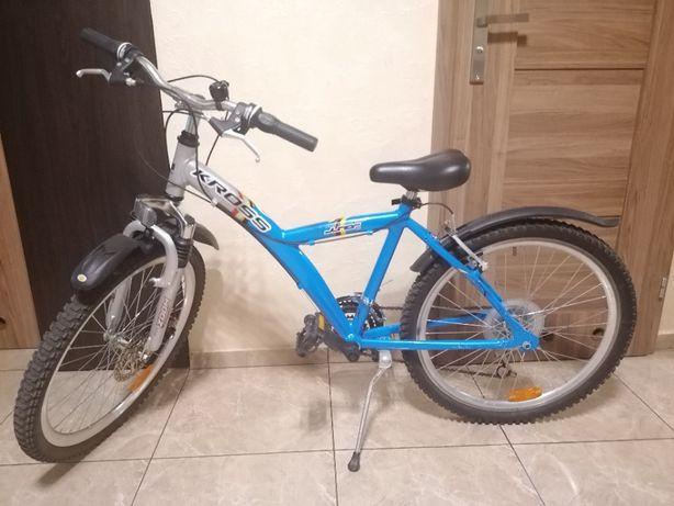 rower Kross 24 cale, aluminium,shimano