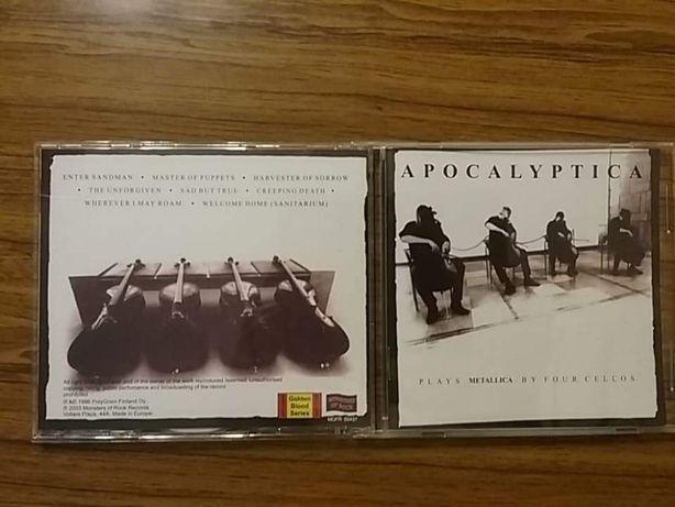 Компакт-диски CD Apocalyptica, Uli Jon Roth, Michael Schenker, Rush