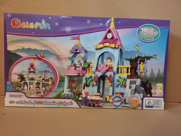 Elefun klocki jak LEGO friends Miasto marzeń Zamek księżniczki