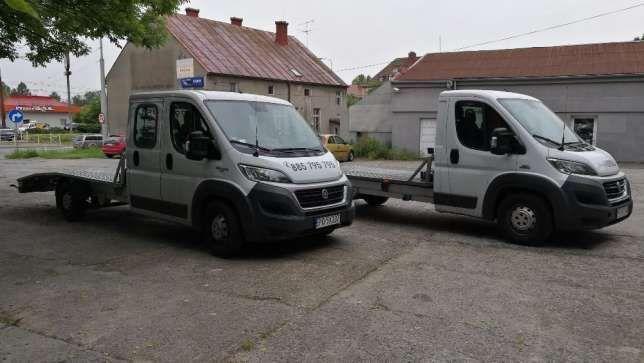 AutoLaweta Najazd wynajem transport przewóz aut Gorzów pomoc drogowa