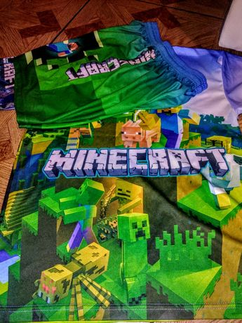 Minecraft. Komplet chlopiecy. Nowy. Rozm152/158. SMYK