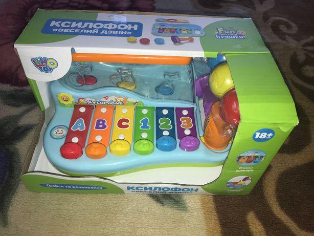 Ксилофон Limo toy з молоточком