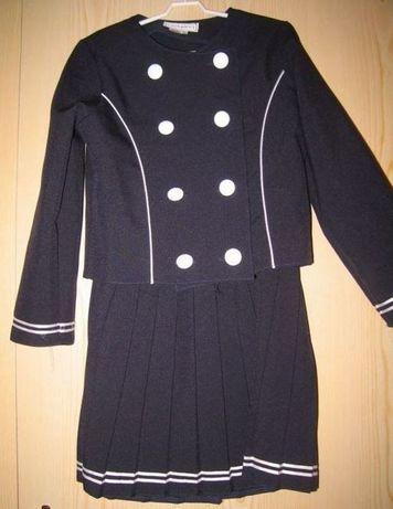 Dziewczęcy komplet elegancki mundurek japan kawaii