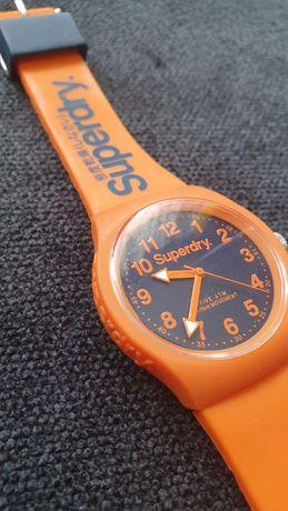 Zegarek Superdry Urban Orange pomarańczowy  granatowy