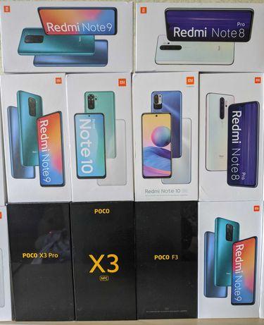 Xiaomi Redmi 9/9T NFC Note 9 Note 8 Note 10 5G Poco M3 X3 F3