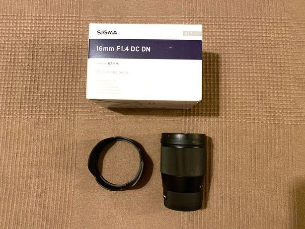 Sigma 16mm f/1.4 DC DN Contemporary - E-Mount - SONY