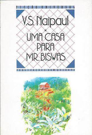 Uma casa para Mr. Biswas_V. S. Naipaul_Dom Quixote