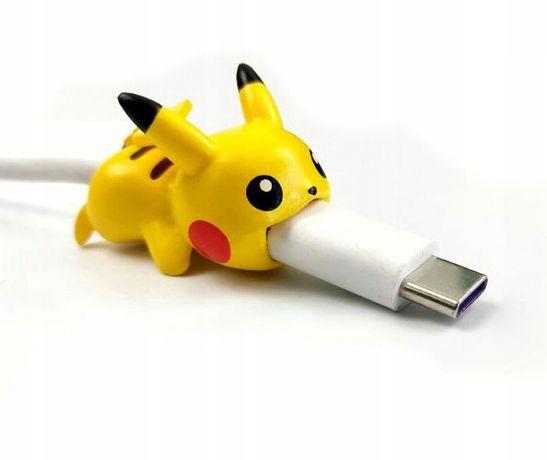 Osłonka Na Kabel Zabezpieczenie Kabla Pikachu