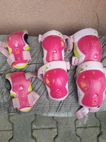 Ochraniacze na rolki dla małego dziecka
