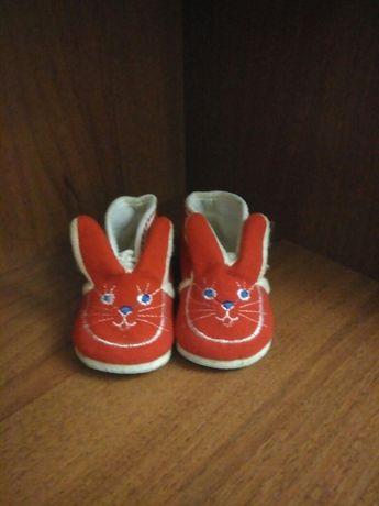 Детские ботиночки для самых маленьких